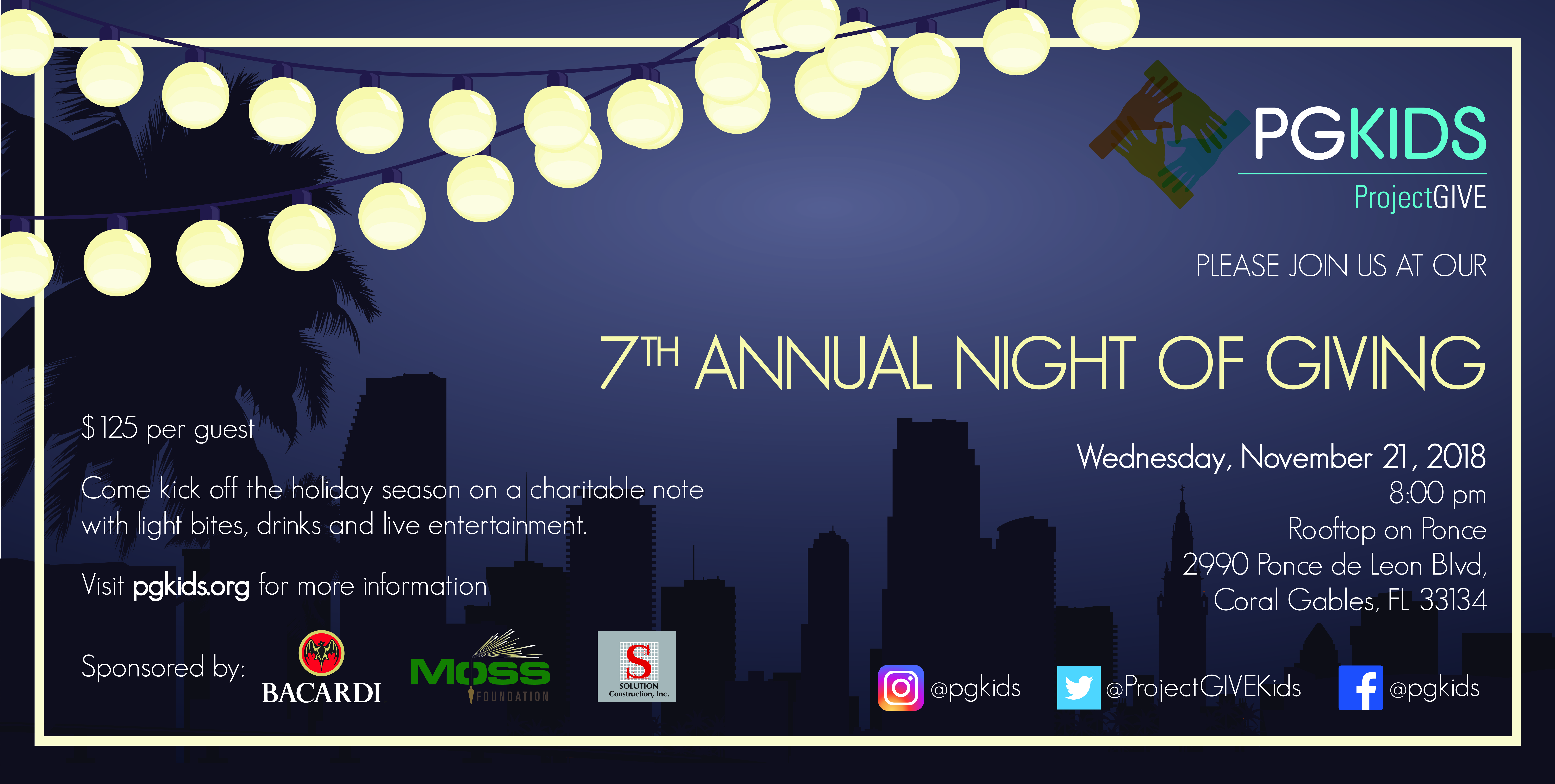 7th Annual Night of Giving